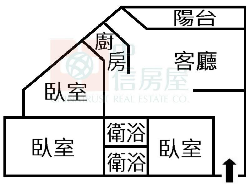 買屋賣屋租屋中信房屋-永康崑山科技大學美電寓