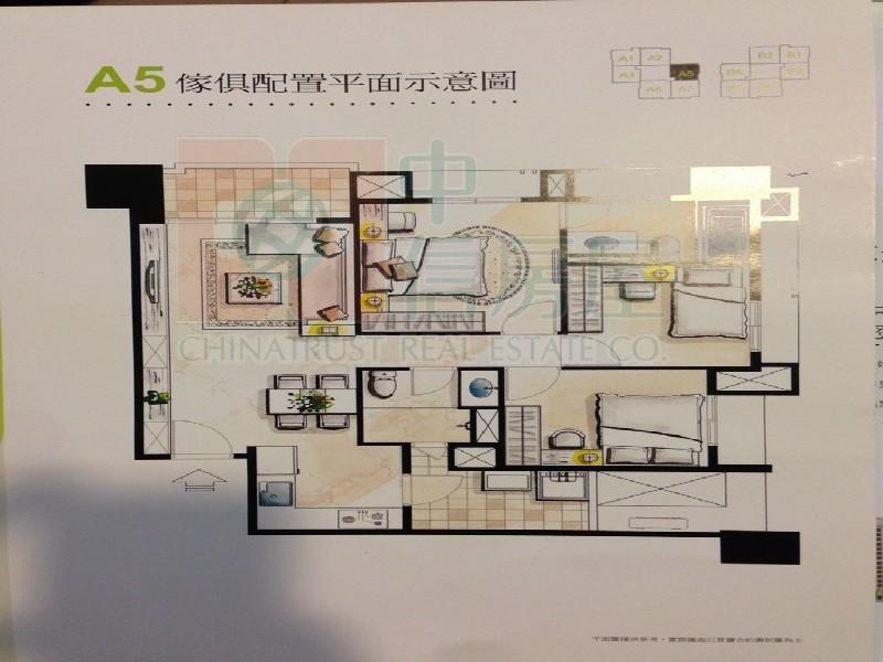 買屋賣屋租屋中信房屋-登陽森濤B1棟4樓