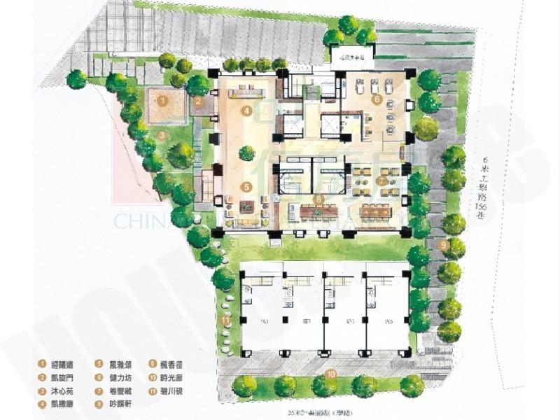買屋賣屋租屋中信房屋-擎山視野3+1房雙平車美宅