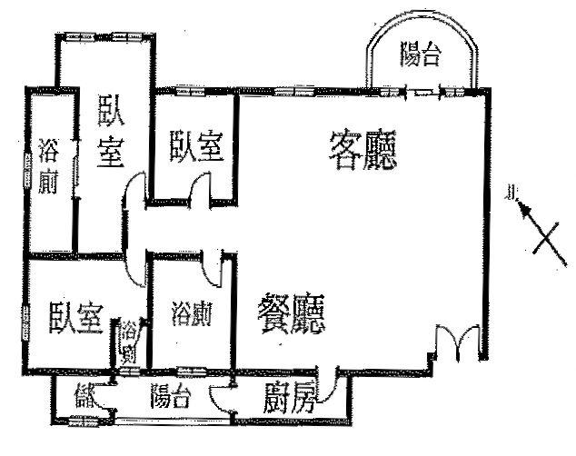 買屋賣屋租屋中信房屋-107東方富域